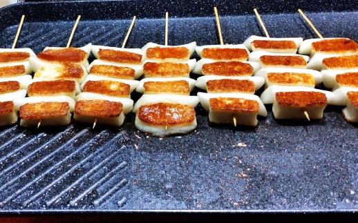 grilled mozzarella